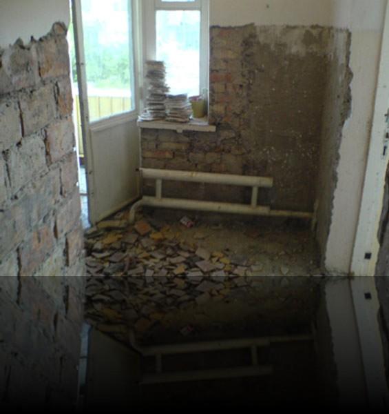 Eine umfassende Renovierung des gesamten Gebäudes war notwendig.
